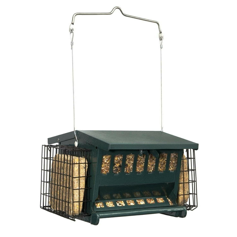 hopper bird feeder wild yard suet cages