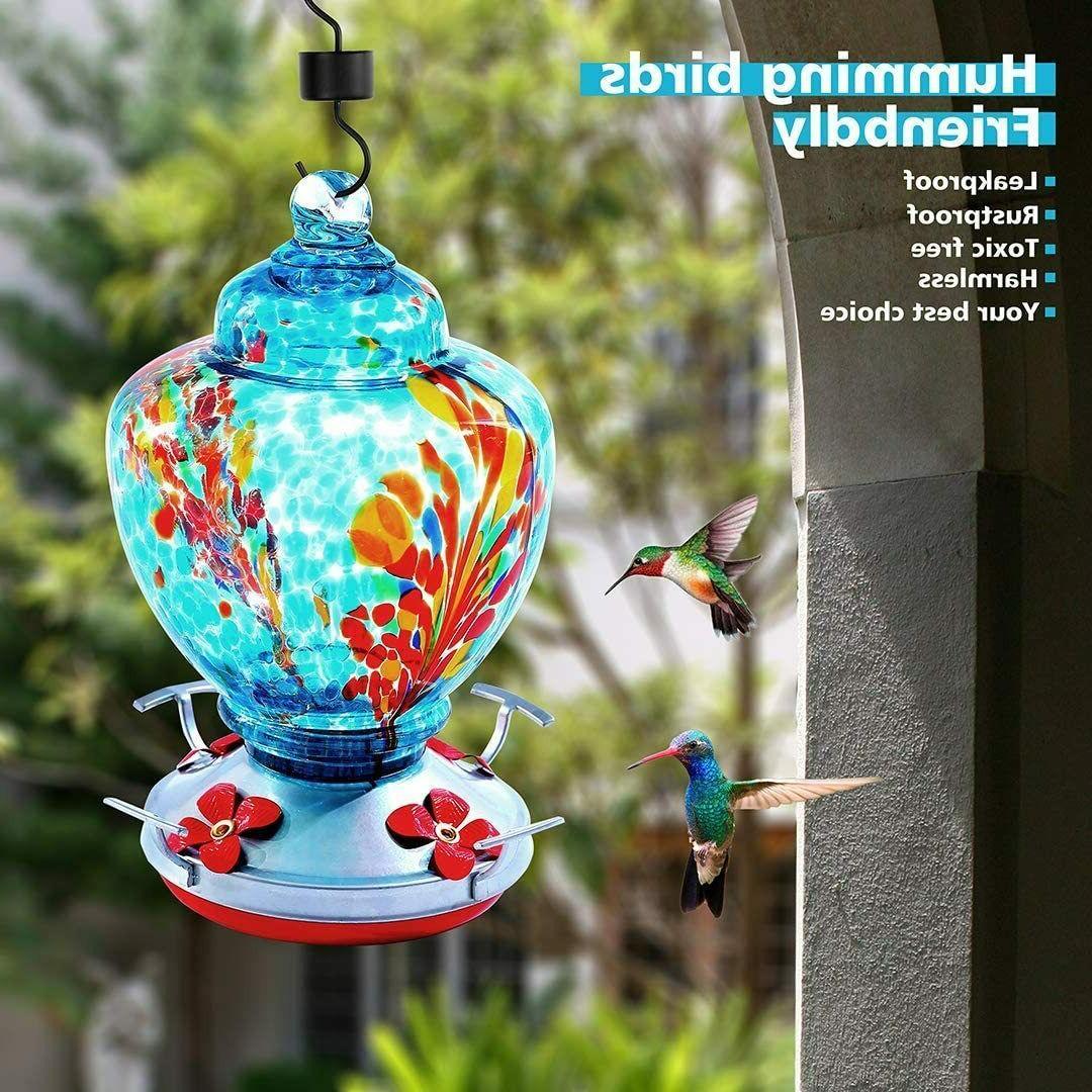 Hummingbird Feeder for Glass Easy to