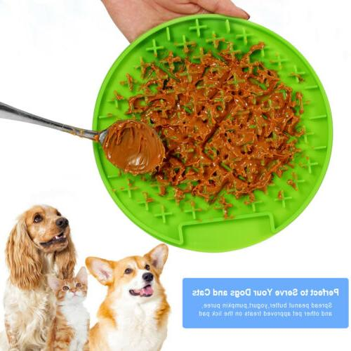 Slow Feeder Dog Bowl Small Cat Eating Interactive Puzzle Dis