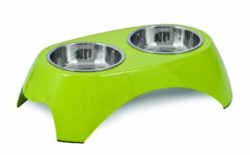 italia raised double bowl