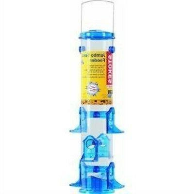 jumbo seed tube bird feeder