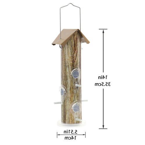 KINGSYARD Metal Bird Feeders Lightweight Finch