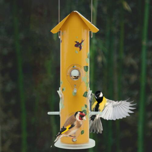 KINGSYARD Metal Finch Feeders Seed