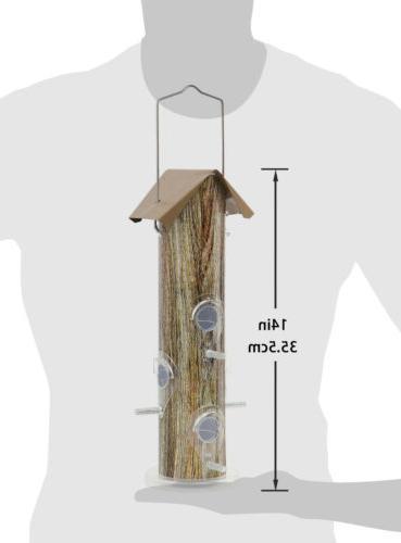 KINGSYARD Tube Feeders Lightweight Proof Finch Seed