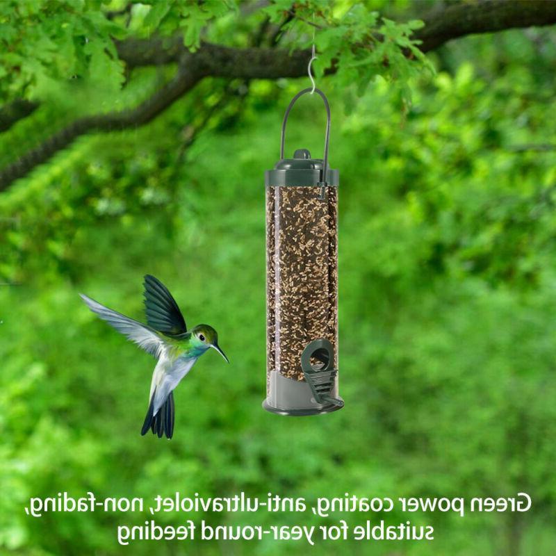 Outdoor Wild Bird Feeder Squirrel Food Tree Patio