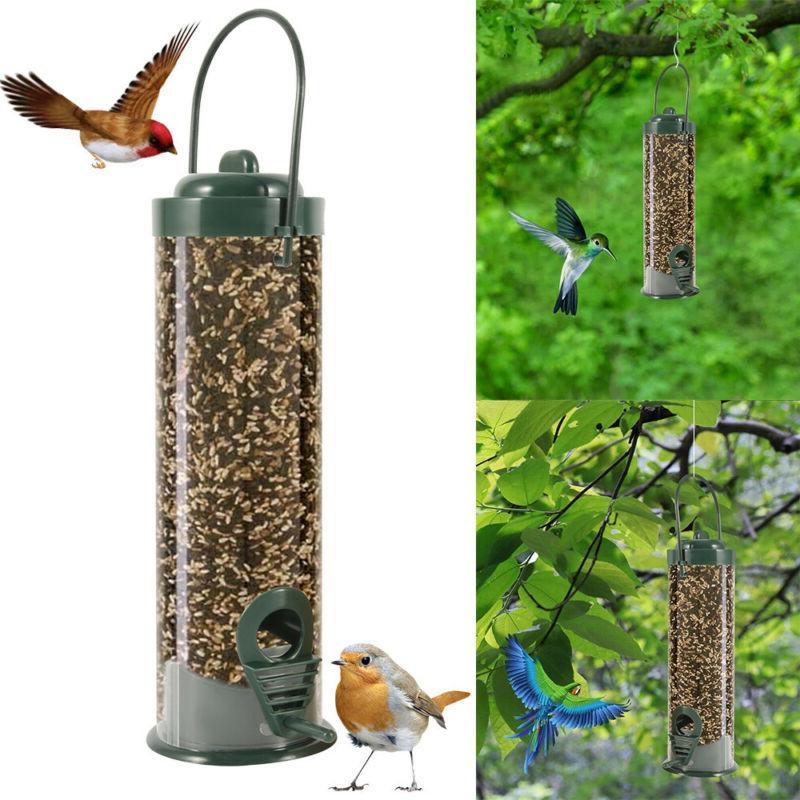 Outdoor Wild Bird Squirrel Seed Food Hanging
