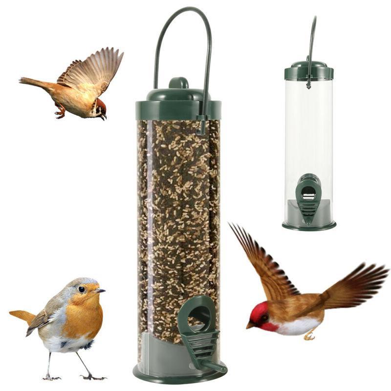 outdoor wild bird feeder squirrel proof garden