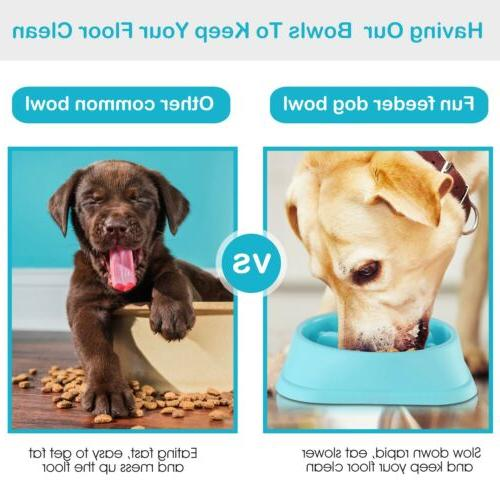 Outward Slow Feed Bloat Stop Pet Bowl HOT