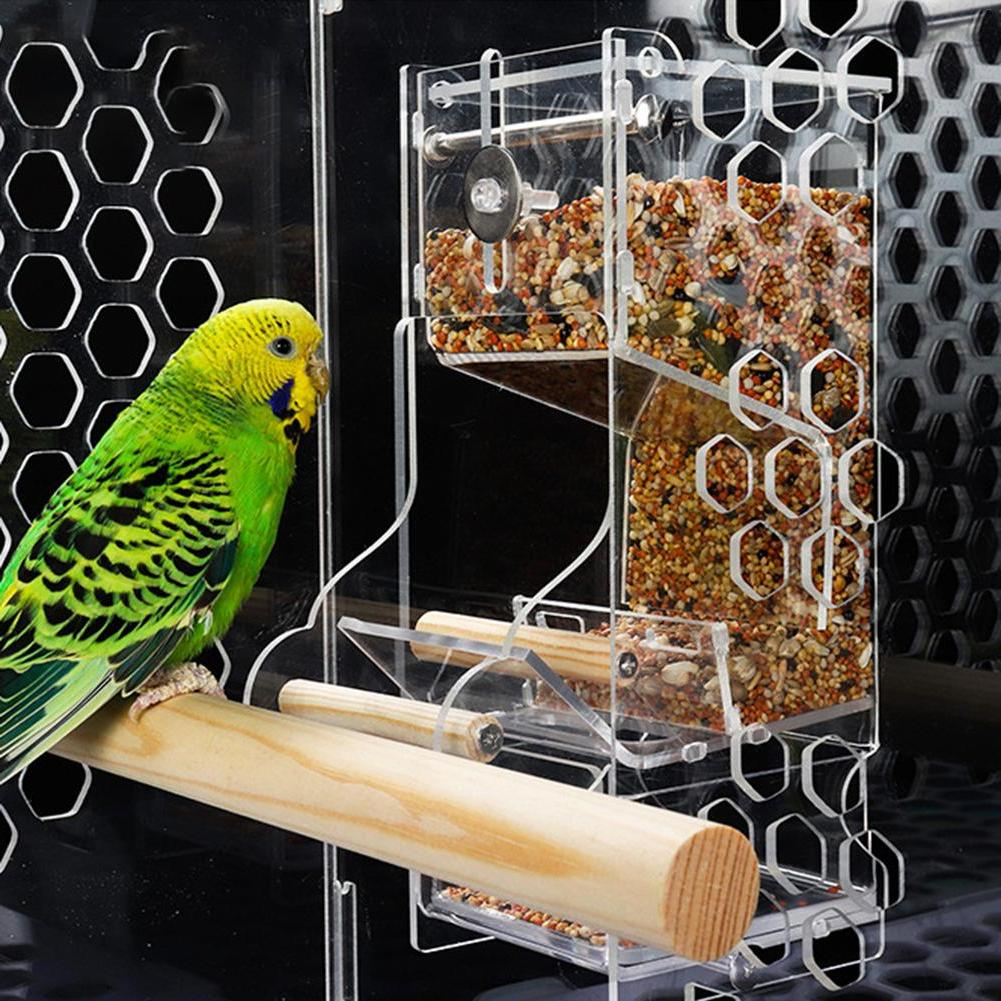 Parrot Automatic <font><b>Feeder</b></font> Anti-leakage <fo
