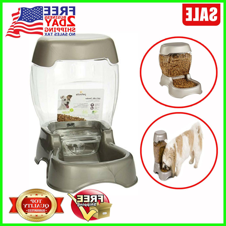 pet cafe feeder 6 lb pearl tan