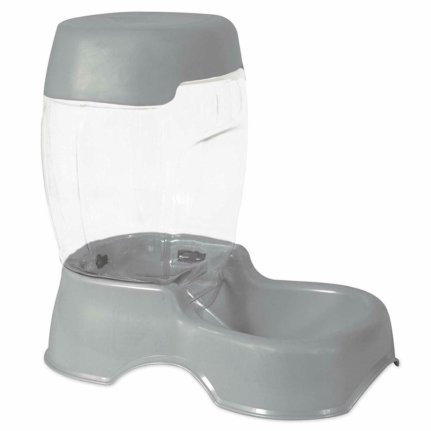 pet cat dog water container cafe feeder