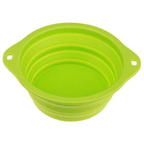 pet dog folding dish bowl