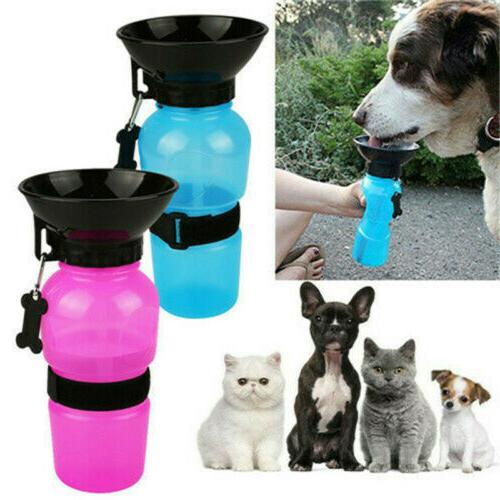 pet supply dog drinking cup water bottle