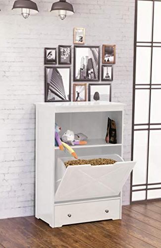 zoovilla PTF0071720110 Windsor Feeder, White