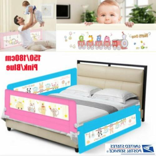 1.5m Child Toddler Safety Bed Rail Baby Bedrail Fold Cot Gua