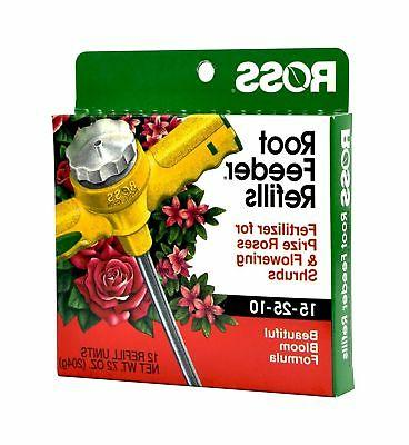 rose flowering shrub root feeder