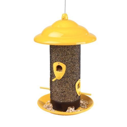 Belle Bird Feeders 50147 Bird Yellow