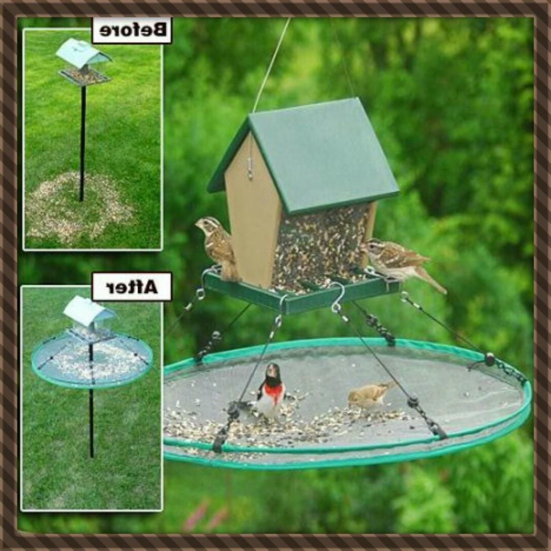 Songbird Essentials SEED SEEDHOOP SEED PLATFORM FEEDER
