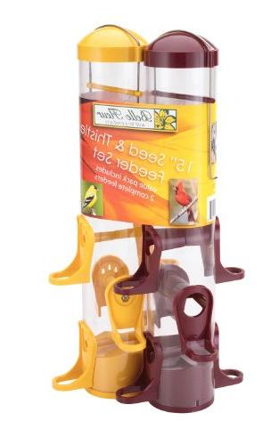 seed thistle feeder set