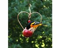 Songbird Essentials SEHHLBAP Love Birds Apple Feeder