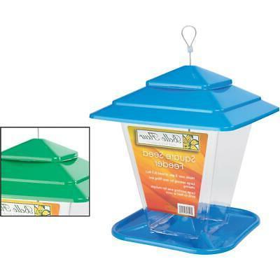 select belle fleur square bird feeder 50120