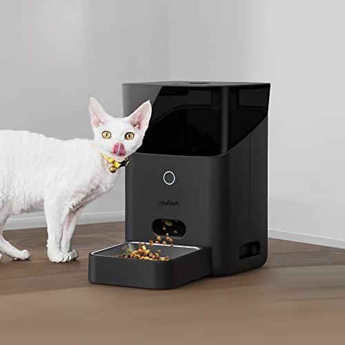 Petnet Wi-Fi Feeder Portions Cats Dogs App iOS Works Amazon Alexa