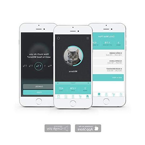 Petnet SmartFeeder - Wi-Fi Portions App Android, iOS Amazon Alexa