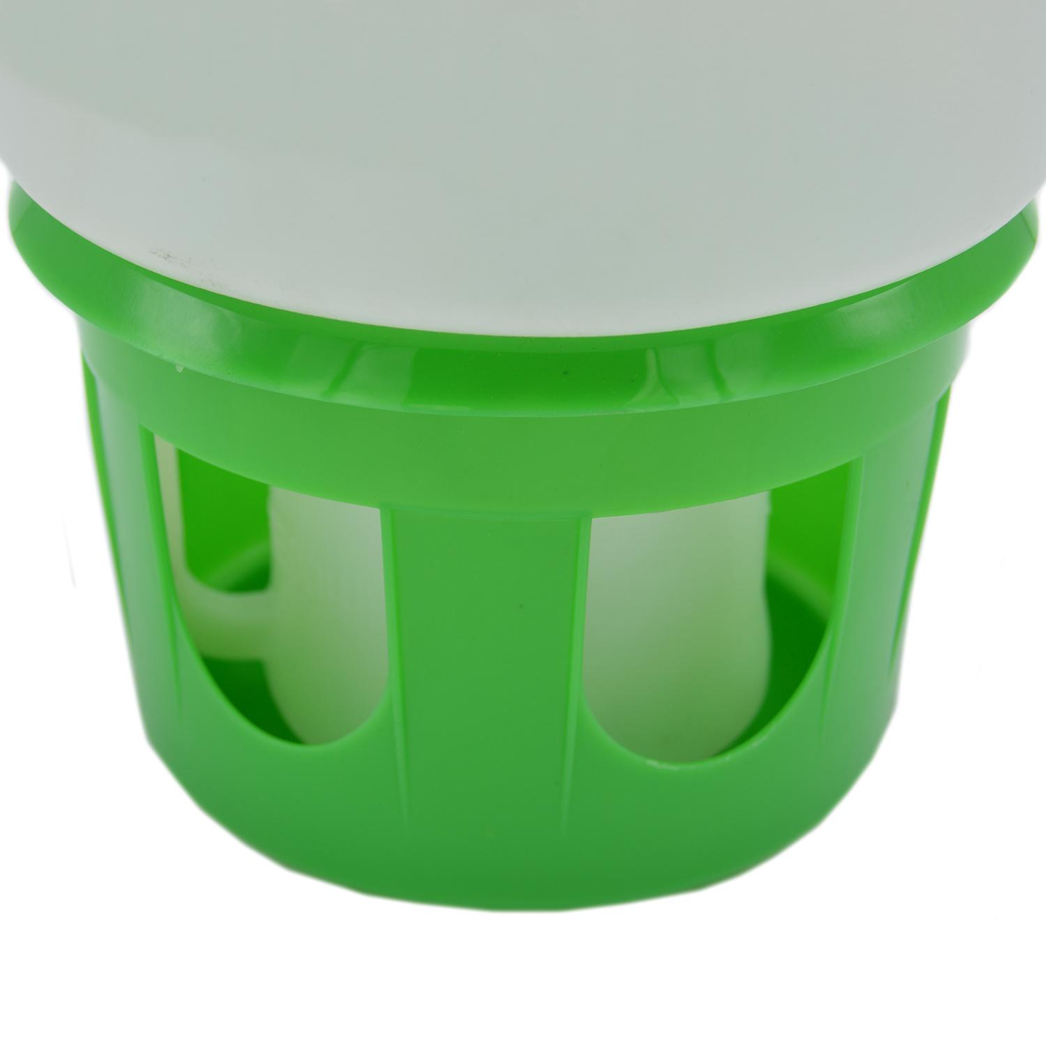 Belle Fleur Hopper Feeder with Suet Holder, Capacity 3.2 qts
