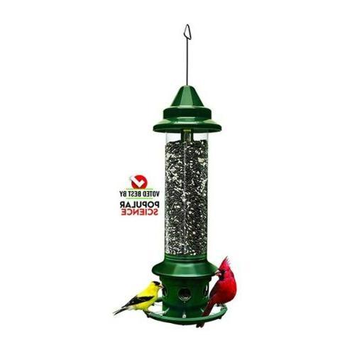 squirrel buster plus bird feeder with hanger
