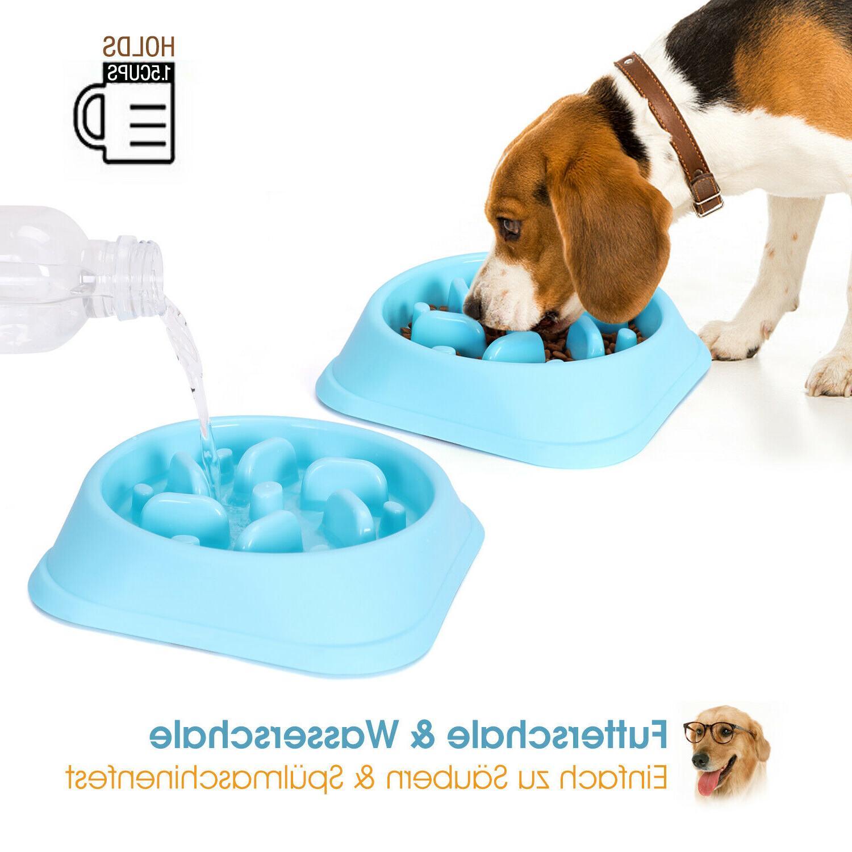 STOCK Dog Bowl Non Puzzle Dish Feed Choke