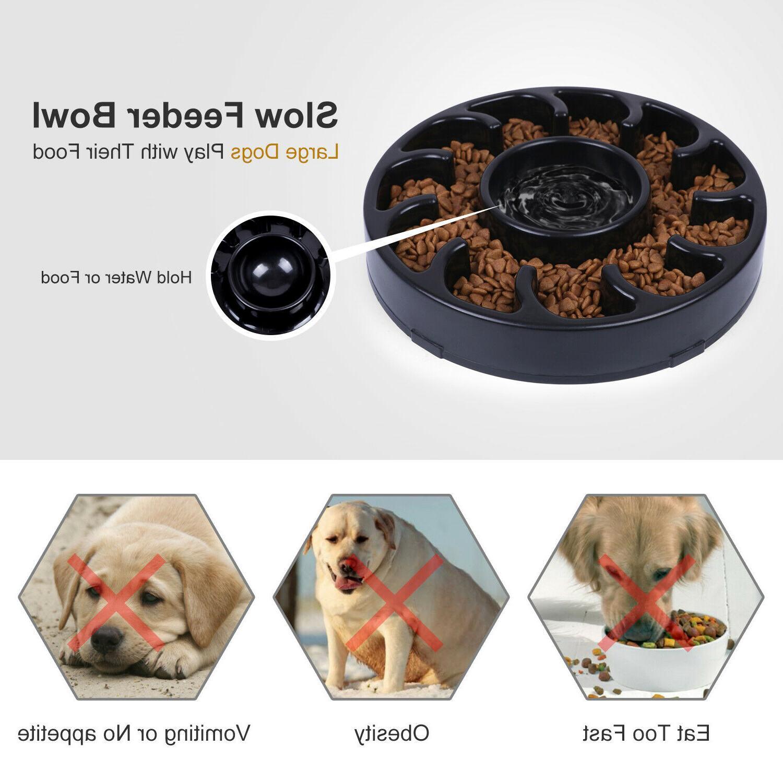 STOCK Feeder Bowl Dog Non Slip Feed Anti