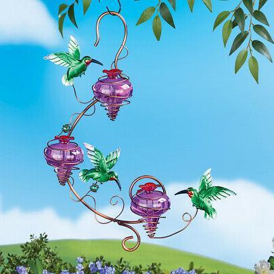 Triple Purple Hummingbird Etc