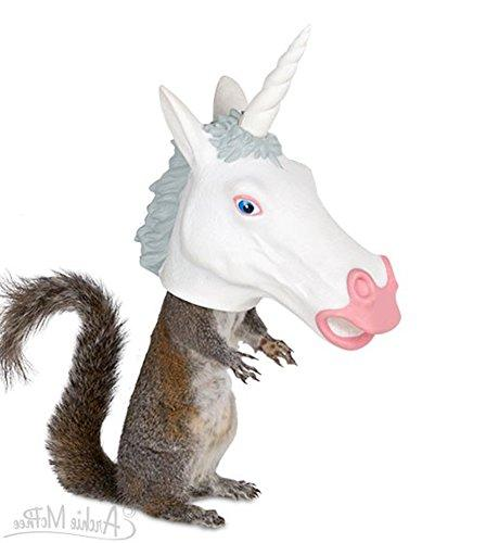 Unicorn Head Feeder by Archie