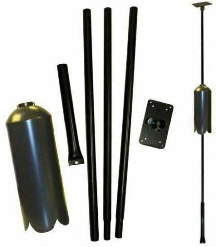 Universal Mounting Pole Kit, Great for bird house, bird Feed