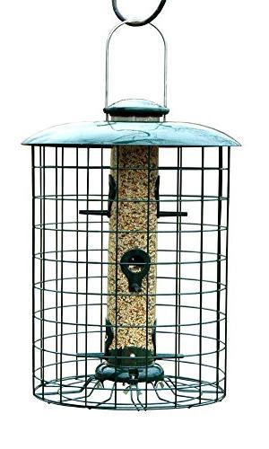 woodlink caged seed tube bird
