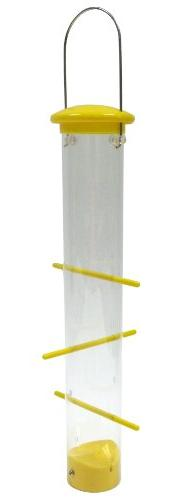 Woodlink Tails Up Upside Down Finch Feeder Wild Bird Feeder,