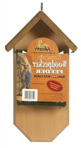 Heath Woodpecker Suet Feeder Brown - SFW-2
