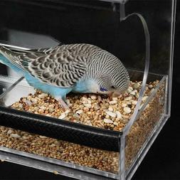 Large Size Window Bird Feeder Outdoor Acrylic Durable Portab