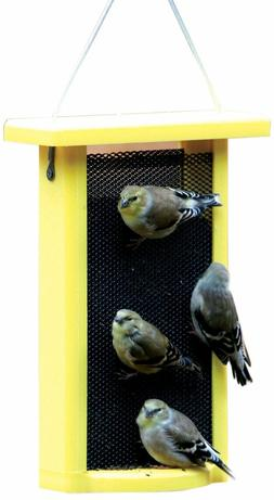 Birds Choice 1.5 qt. Magnet-Mesh Nyjer Finch Feeder