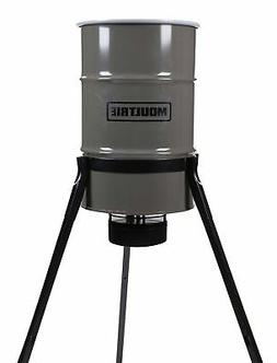 Moultrie Pro Magnum Tripod Deer Feeder | 30-Gallon | LCD Tim