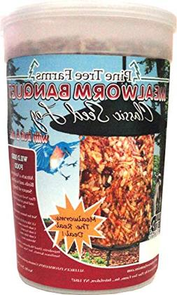 Pine Tree Farms Mealworm Banquet Classic Seed Log 28 oz