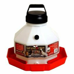 Miller Manufacturing 3 gal Plastic Poultry Fountain