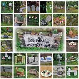 Miniature Fairy Garden Accessories Ideas Kits Supplies Ornam
