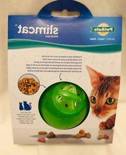 PETSAFE MULTI VET SLIMCAT FEEDER BALL SLIM CAT TOY GREEN