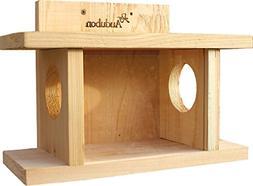 Woodlink NASQBOX2 Audubon Squirrel Munch House Feeder