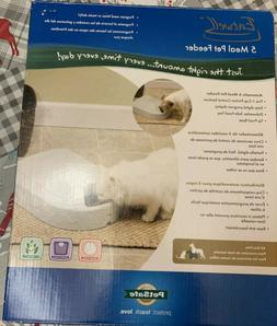 NEW PETSAFE EATWELL 5 MEAL TIMED AUTOMATIC PET FEEDER PFD11-