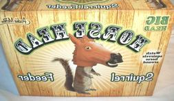 New Archie McPhee Horse Big Head Squirrel Feeder Novelty Fun