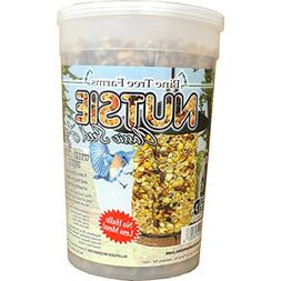 Nutsie Seed Log Bird Food - Size: 40 Oz.