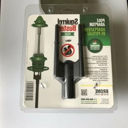 """NWT Brome Squirrel Buster Plus 1"""" Pole Adaptor for Bird Feed"""