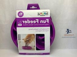 Slow Feed Dog Bowl Large Fun Feeder Stop Bloat for Dogs; Fr